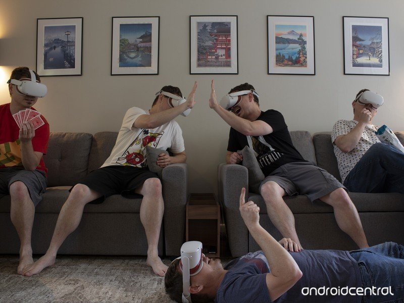 VR Multiplayer Oculus Quest 2 Hero
