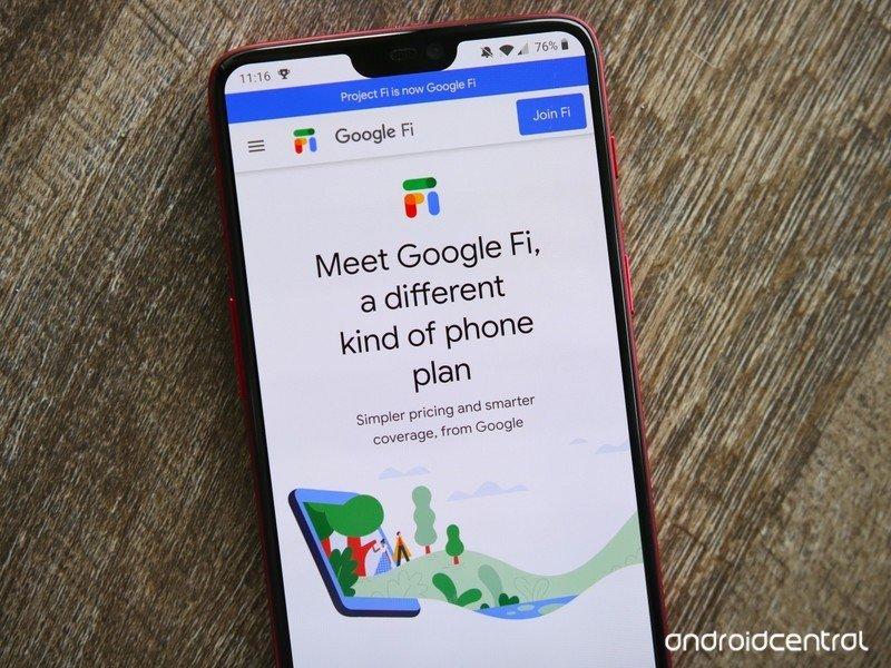 Google FI Website