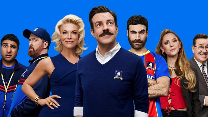 """Apple scores 35 Emmy nominations, including 20 for hit series """"Ted Lasso"""""""