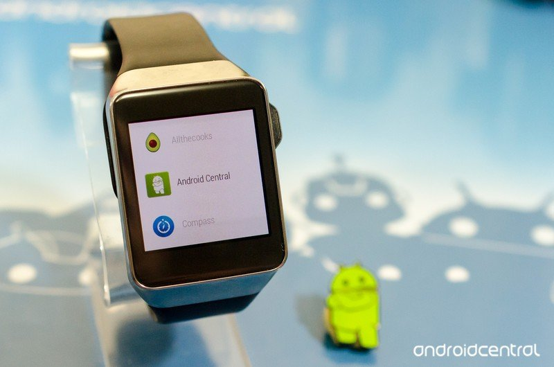 The first Samsung Android watch