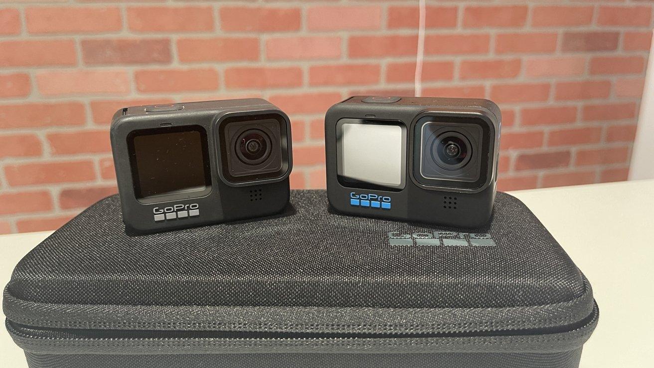 The GoPro Hero 9 Black vs GoPro Hero 10 Black