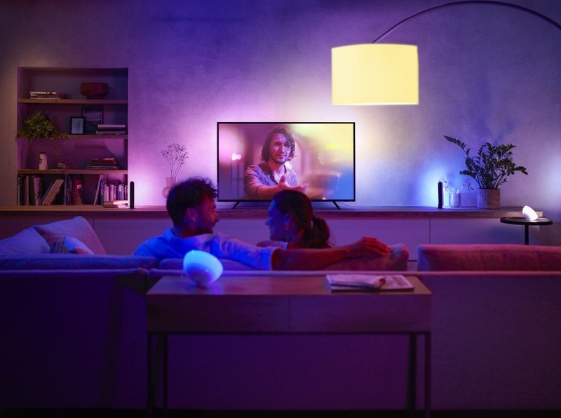 Philips Hue Play Home Theater Lifestyle